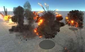 HQ Realistic explosions 1.1.2unity爆炸粒子特效
