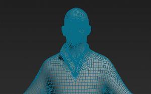 3dmax蒙皮包裹绑定高模教程